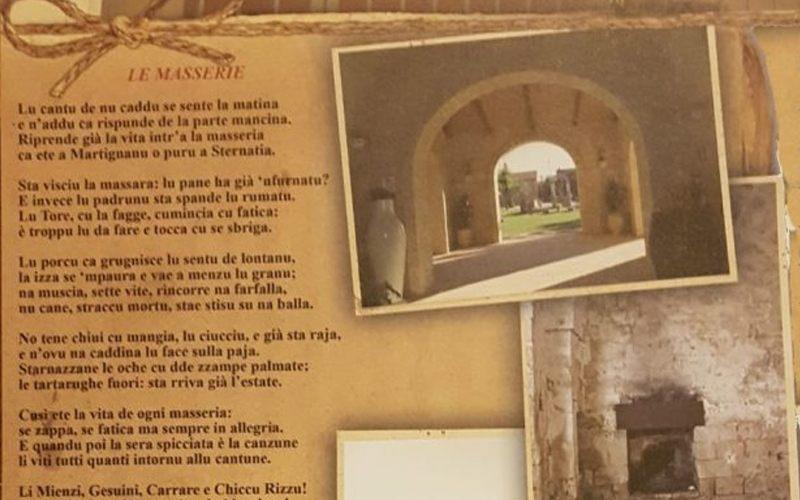 Poesia Masseria Chicco Rizzo